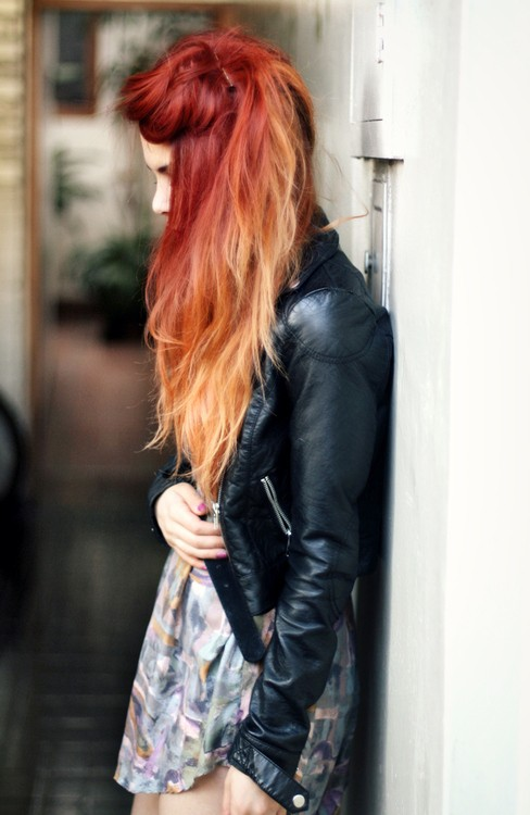 red-ombre
